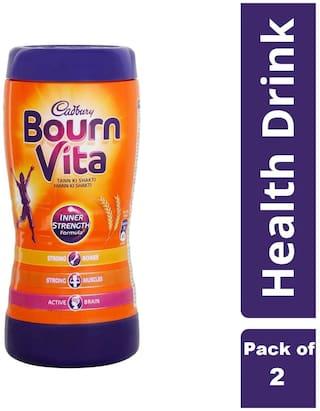 Cadbury Bournvita Health Drink, 200g (Pack of 2)