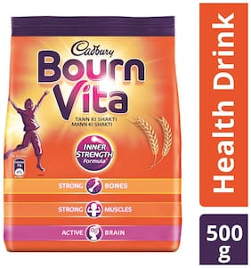 Cadbury Bournvita Health Drink, 500 g Refill Pack - (Pack of 3)