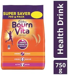 Cadbury Bournvita Health Drink, 750 gm Refill Pack - (Pack of 2)