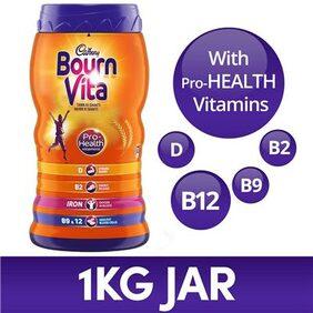 Cadbury Bournvita Pro-Health Chocolate Drink 1kg Jar