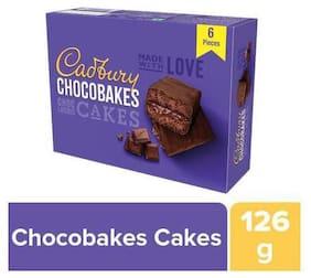 Cadbury Chocobakes Choc Layered Cakes Pack 126g