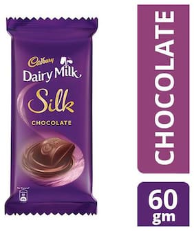 Cadbury Dairy Milk Silk Chocolate Bar 60 g