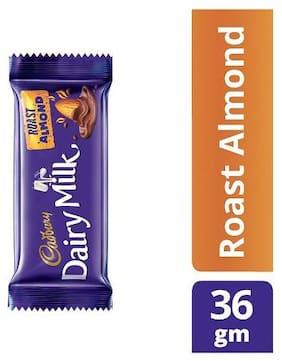 Cadbury Dairy Milk Roast Almond Chocolate Bar 36 g