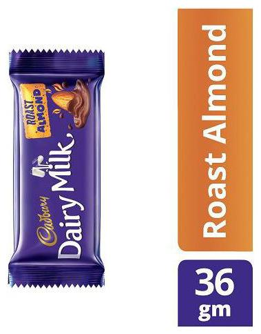 Cadbury Dairy Milk Roast Almond Chocolate Bar 36 g