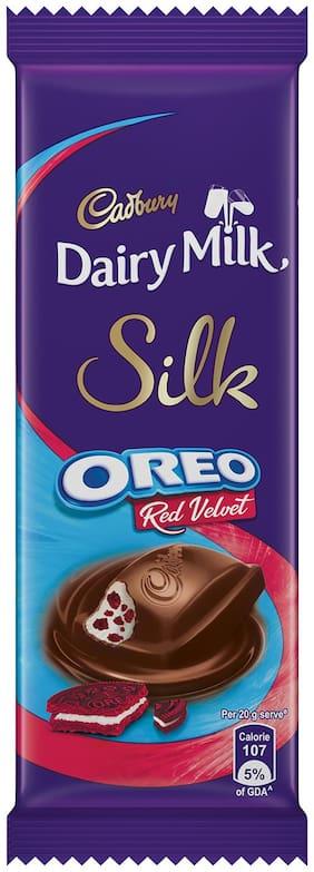 Cadbury Dairy Milk Silk Oreo Red Velvet, 60g - Pack of 6