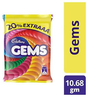 Cadbury Gems Sugar Coated 10.68 g