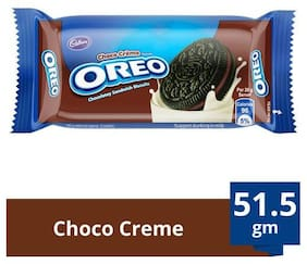 Cadbury Oreo Creme Biscuit - Chocolate 51.5 gm