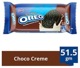 Cadbury Oreo Creme Biscuit - Chocolate 51.5 g