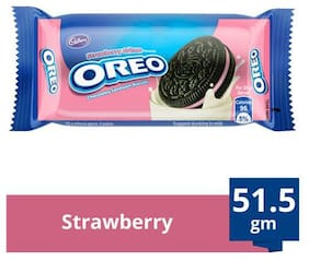 Cadbury Oreo Creme Biscuit Strawberry 51.5 g