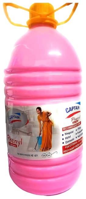 Captain Disinfectant Rose Phenyl Floor Cleaner (5 L)