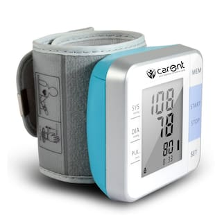Carent Fully Automatic Wrist Blood Pressure Monitor with Intellisense Technology (White) (Pack of 1)