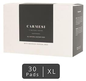 Carmesi Sanitary Pads -XL 30 pcs