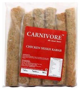 Carnivore Chicken Seekh Kabab - Lime N Pudinha 500 g