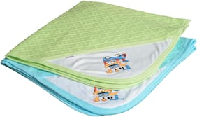 CATCUB Ultra Soft Cotton Baby Hooded Towel Combo -(Pack of 2) (CCT-01-02)