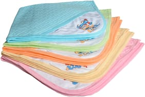 CATCUB Ultra Soft Cotton Baby Hooded Towel Combo - (Pack of 2) (CCT-1-5)