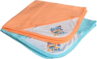 CATCUB Ultra Soft Cotton Baby Hooded Towel Combo - (Pack of 2) (CCT-01-03)