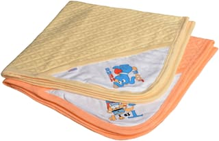 CATCUB Ultra Soft Cotton Baby Hooded Towel Combo - (Pack of 2) (CCT-03-05)
