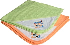CATCUB Ultra Soft Cotton Baby Hooded Towel Combo -(Pack of 2) (CCT-02-03)