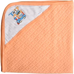 CATCUB Ultra Soft Premium Cotton Baby Hooded Towel (Pack of 1) (CCT-03)