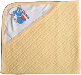CATCUB Ultra Soft Premium Cotton Baby Hooded Towel (Pack Of 1) (CCT-05)