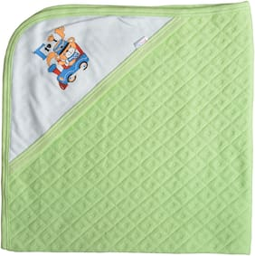 CATCUB Ultra Soft Premium Cotton Baby Hooded Towel (Pack Of 1) (CCT-02)