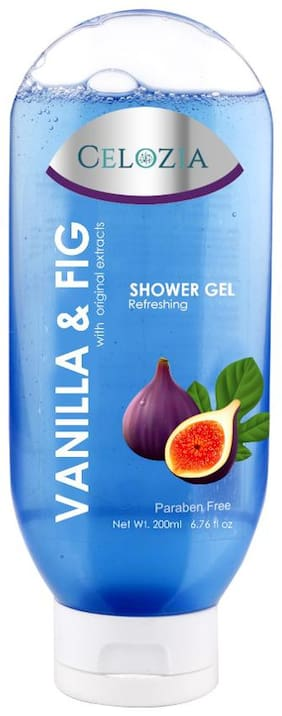 CELOZIA Vanila & Fig Shower Gel (200 ml)