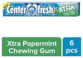 Centerfresh Xtra Peppermint Flavour - Chewing Gum Stick 20g