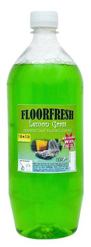 CERO FLOORFRESH Concentrate LemonGrass Essential Oil Disinfectant Floor Cleaner (1 Lit to 3 Lit)
