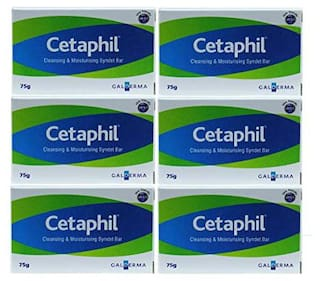 Cetaphil AD Soap Bar 75g Pack of 6