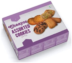 Chaayos Assorted Cookies 18 Packs x 25 g Each (Pack Of 1)