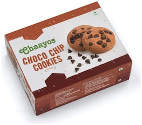 Chaayos Premium Chocochip Cookies 18 Packs x 25 g Each (Pack Of 1)