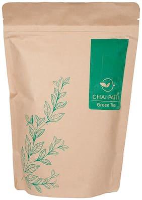 Chai Patti Pure Green Tea (Orthodox Leaf) 200g (Pack of 1)
