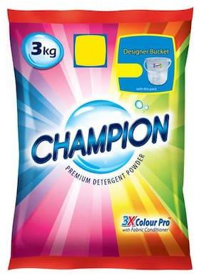 Champion Detergent Powder - Premium 3X Colour Pro 3 kg