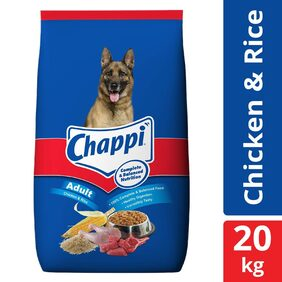 Chappi Adult Dry Dog Food Chicken & Rice - 20 kg Pack