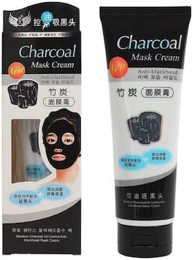 Charcoal Peel Off Face Mask [Blackhead Remover Mask], Activated Charcoal Face Mask Deep Cleaning Facial Mask for Acne  (130 g)