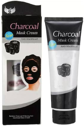 Charcoal Peel off Mask | Ultimate Blackhead Remover| Skin DeTox, Deep Cleansing & Instant Glow