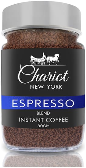 Chariot New York Espresso Blend Instant Coffee 80g (Pack Of 1)