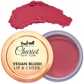 Chariot New York Lip and Cheek Vegan Blush (Pink) 6g