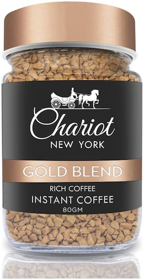 Chariot New York Gold Blend Rich Instant Coffee 80g (Pack Of 1)