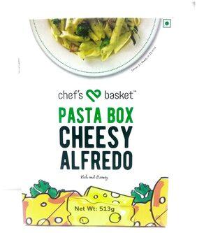 CHEFS BASKET PASTA CHESSY  ALFREDO 513G PACK OF 2