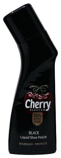 Cherry Blossom Liquid Shoe Polish - Black 75 ml
