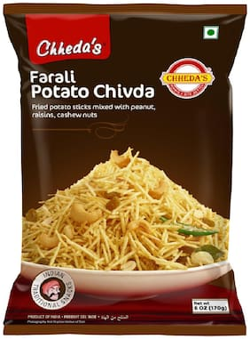 Chheda's Farali Potato Chivda 170g (Pack of 5)