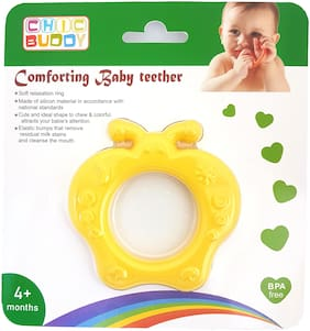 Chic Buddy comforting Apple Shape baby teether