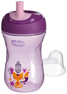 Chicco Advanced Sipper Cup 200 ml (12 Months) (Purple) (Pack of 2)
