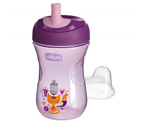 Chicco Advanced Sipper Cup 200 ml (12 Months) (Purple And Skyblue)