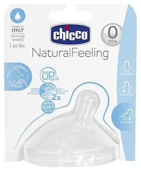 Chicco Baby Bottle Teat Regular Flow - 0m+ 1 pc