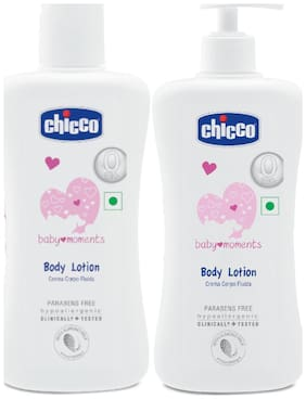 Chicco Baby Lotion 200ml & Body Lotion (500 ml)