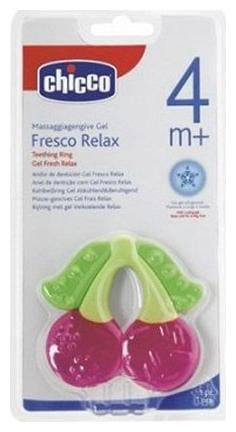Chicco Teethers - Fresh Relax Cherry 1 pc
