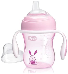 Chicco Transition Cup 200 ml (4 Months) (Pink)
