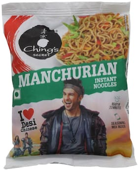 Chings Instant Noodles - Manchurian 60 g